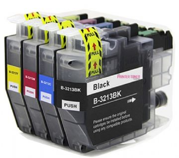 Brother LC3213 Ink Cartridge Multipack (LC3213BK/C/M/Y) Refurbished
